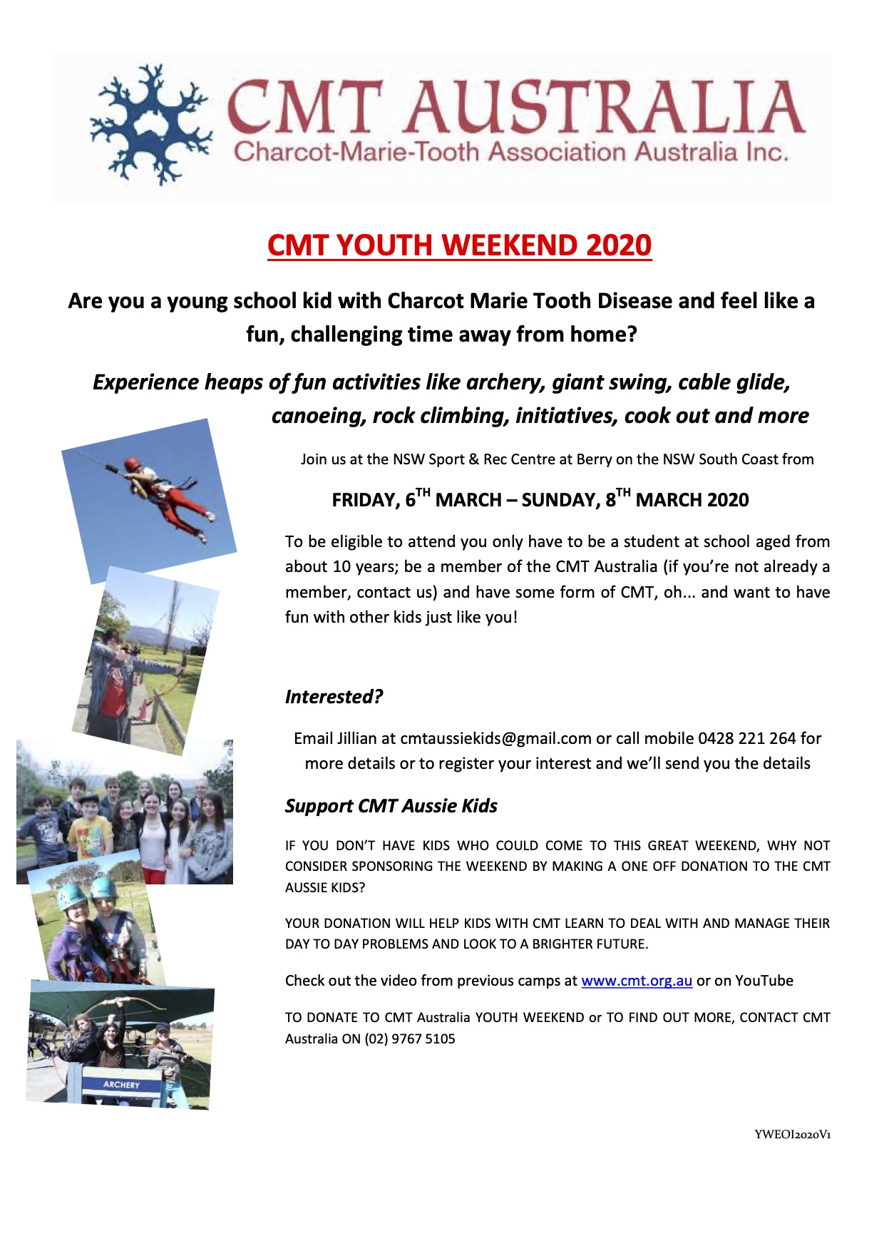 2020 CMT Youth Weekend
